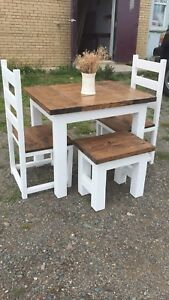 Custom Farmhouse Table Sets