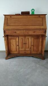 Pine Bureau Desk