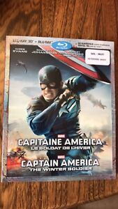 Captain America Winter Soldier 3D blu-ray