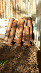 5x Terracotta Pipes (Good Condition) Ebbw Vale Ipswich City Preview