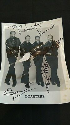 "Poster of the Coasters Autographed 8"" x 10"""