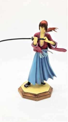 Large Discounted Retired Rurouni Kenshin Samurai X Japanese Anime Manga Figure