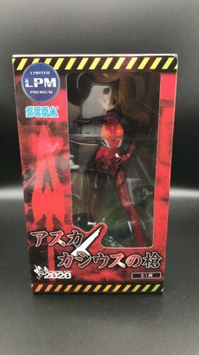 Neon Genesis Evangelion Figure  Asuka Langley Cassius Spear SEGA