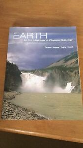 Earth: An introduction to Physical Geology London Ontario image 1