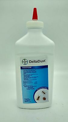 DELTA DUST Pest Control Insecticide Bees Ants BedBugs 1lb