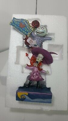 "DISNEY TRADITIONS-""THE NIGHTMARE BEFORE CHRISTMAS""-""TRIPLE TROUBLE"" FIGURINE"
