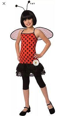Costume Girls Love Bug Lady Bug Animals Insects Childrens Costume 8-10 - Love Bug Costume