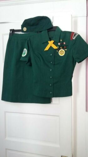 VTG 1960s Senior Girl Scout Uniform-1962 Round-up Patch/General Interest Patch
