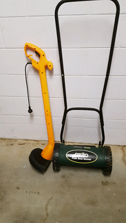 Push mower and line trimmer