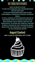 HVO AUGUST CONTEST