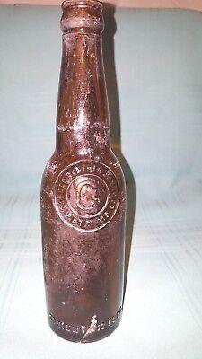 Vintage George Gunther Brewing Company Brown Beer Bottle