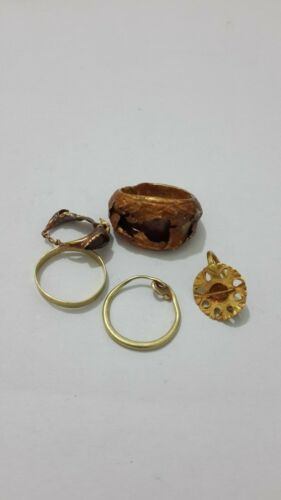 ancient roman gold earring 8