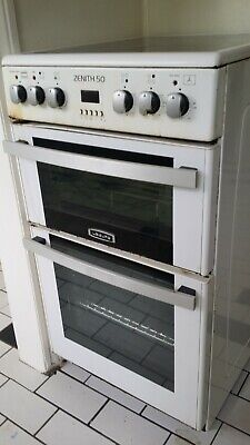 Electric cooker, double oven.