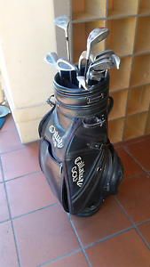 Golf bag and clubs Unley Unley Area Preview