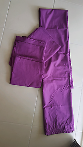 2 sets Purple Blockout Curtains Jimboomba Logan Area Preview