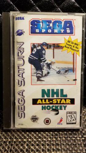 NHL All-Star Hockey Sega Saturn, 1995  - $2.25