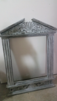 Rustic mirror /picture frame