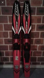 Double water skis new condition Singleton Singleton Area Preview