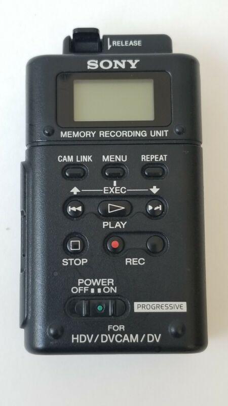 SONY HVR-MRC1 Memory Recording Unit Flash Camcorder HDV/DVCAM DV Camera HD SD
