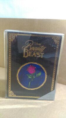 Disney Beauty The Beast 20 Note Card Set With Keepsake Book New Tl33
