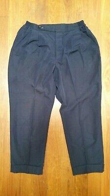 Haversack Cropped Easy Pants, Blue, Mens Size Medium