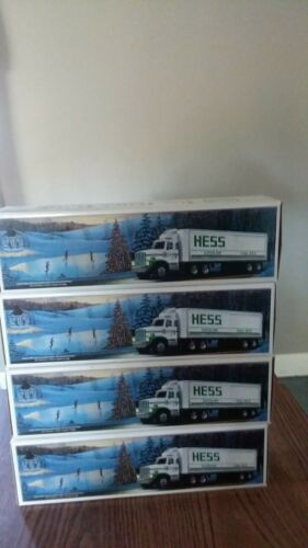 1987 Hess GoLD GRILLE MIB FOR ONE TRUCK ONLY