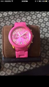 Women's Michael Kors Silicone Watch