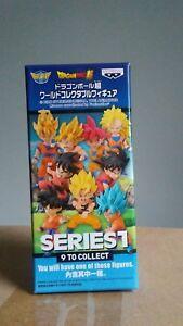 Banpresto Dragon Ball Z Super World Collectables Series 1 Blind Box Mini Figure