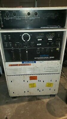 Miller Syncrowave 300 Sp-1 Acdc Gas Tungsten Arc Shielded Metal Arc Welding