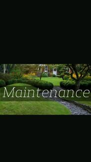 Maintaining  ur lawns  and garden