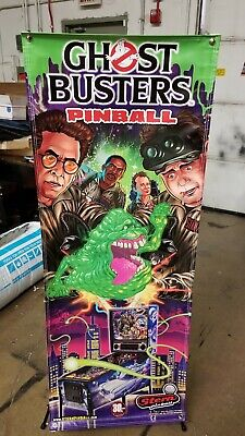 Ghostbusters Stern Pinball Ghostbusters Banner