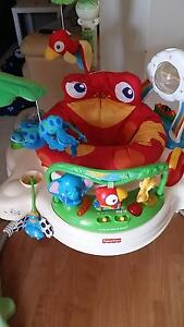 Jumperoo - Fisher Price Rainforest theme Ocean Reef Joondalup Area Preview