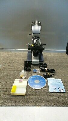 Amscope 40x-2000x Led Digital Binocular Compound Microscope Accessories