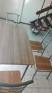 Dining table wirh four chairs Cabramatta West Fairfield Area Preview
