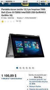 Dell inspiron neuf dans la boite
