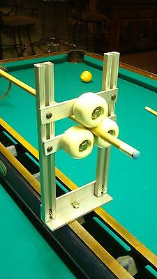 12in LATHE ROLLER / STEADY REST, works awesome for round objects like pool cues