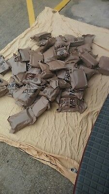 Military MRE Lot - 6 Meals Ready to EatChoose any 6 for $36.99