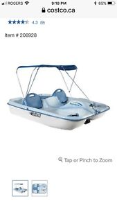 PPU Pelican Pedal Boat Used Once