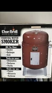 Brand New * Char-Broil Charcoal Smoker
