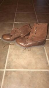 Timberland Suede and Leather Fold or High Top Boots