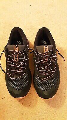 Asics Womens Gel-Sonoma 4 Trail Trainers - Black/Papaya size 8.5 BUT FITS...