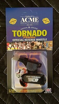 Acme Tornado Plastic Pealess Official Referee Coach Loud Whistle soccer (Referee Coachs)