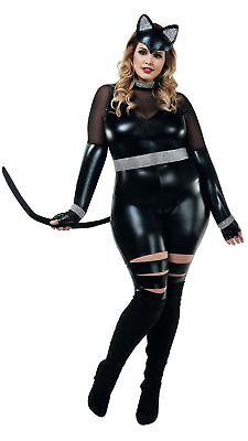 Starline Cat Burgler Plus Size Womens Costume