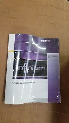 Hp Infinium Oscilloscope Programmers Quick Reference Guide New