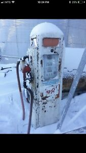 Collector Buying Old Gas Pumps