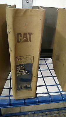 Cat Caterpillar 631C 633C Scraper Wheel Tractor Scrapers   Service Manual
