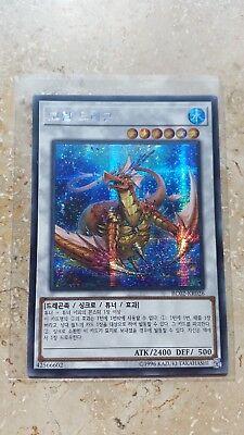 Yu Gi Oh Korean chimeratech megafleet Dragon rc02-kr002 extra Secret rare Fusion