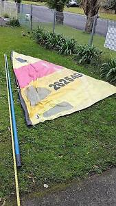 Windsurfer Branded Sail and 4.2metre mast Summerland Point Wyong Area Preview