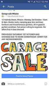 Garage sale Whalan Mount Druitt Blacktown Area Preview