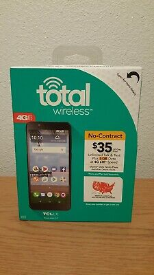 TOTAL Wireless TCL LX 4G LTE 16gb Prepaid Cell Phone Brand New!!